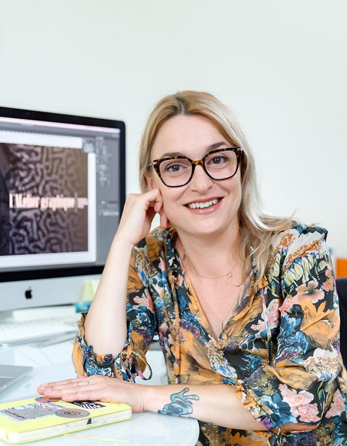 Maud Sammartano de l'Atelier Graphique